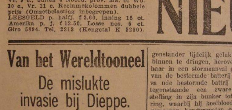 2 tal Friesche oorlogs kranten 1941/42