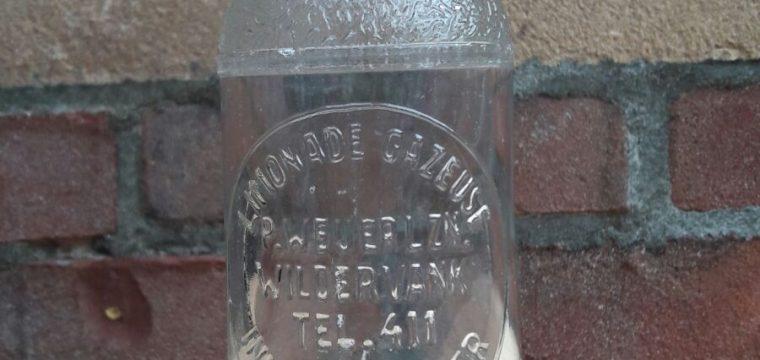 Limonade Gazeuse flesje P. Weijerl