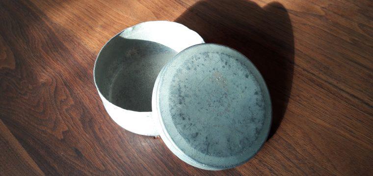 Aluminium Apotheke Wolsiffer's Pulvermisch dose D.R.G.M.
