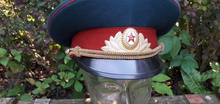 Russische leger/grenstroepen officierspet