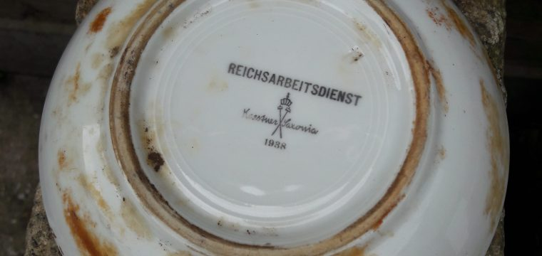 Schoteltje van de RAD Karstner Saxonia 1938