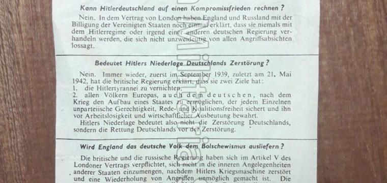 Vlugschrift : Nach Hitlers sturz G.39