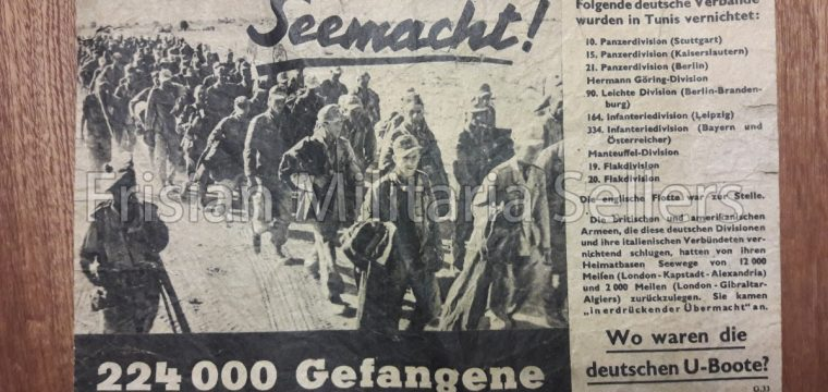 Vlugschrift : Seemacht ! 224.000 Gefangene G.33