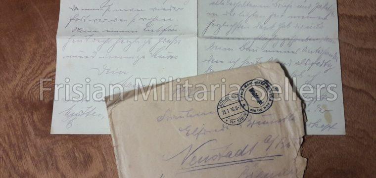 Feldpostbrief 1916