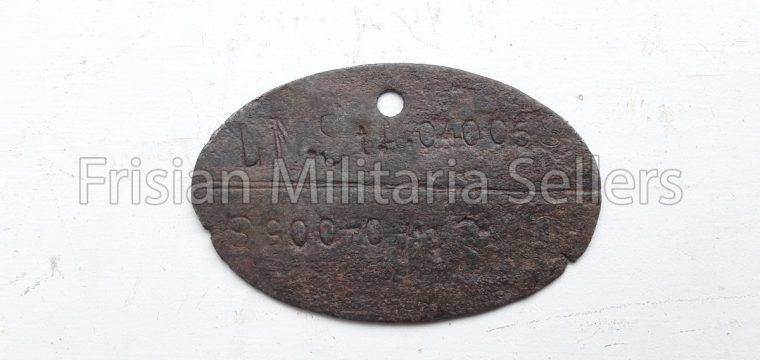 Duits ID plaatje van zink