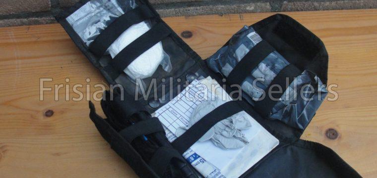 Italiaanse leger first aid kit voor oefeningen