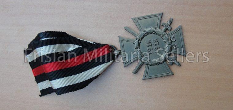 Duitse medaille WO1  D & Co
