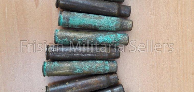 12 stuks lege Duitse/Tsjechische wo1 afvuur patroon hulzen voor verschieten geweergranaat