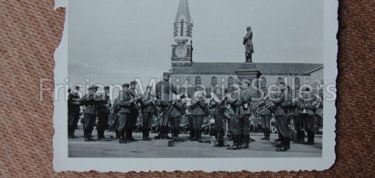 Kleinbeeld foto Duits muziekkorps ( Frankrijk )