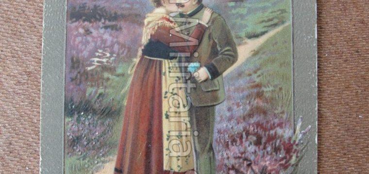 Nederlandse kleur postkaart uit 1913 van Marie Palijn te Rotterdam
