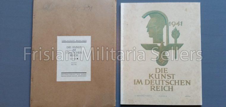 Die kunst im Deutschen reich – Mai 1941 – Zentalverslag der N.S.D.A.P., Franz Eher nachf., München