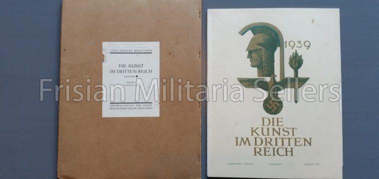 Die kunst im Deutschen reich – August 1939 – Zentalverslag der N.S.D.A.P., Franz Eher nachf., München
