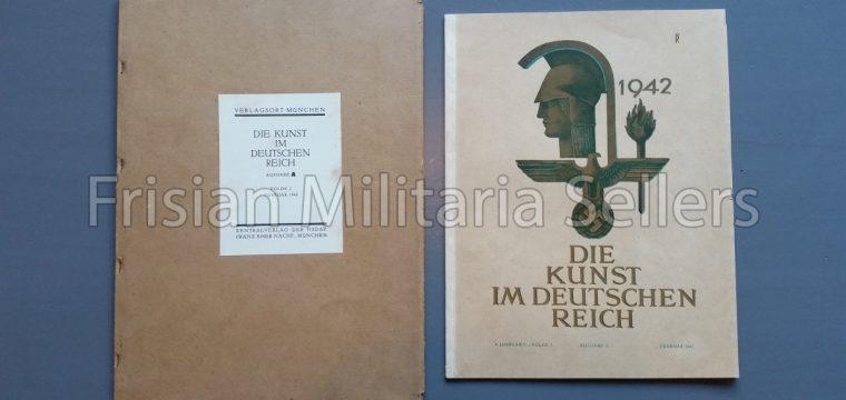 Die kunst im Deutschen reich – Februar 1942 – Zentalverslag der N.S.D.A.P., Franz Eher nachf., München