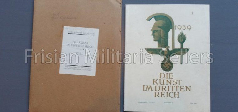 Die kunst im Deutschen reich – Juli 1939 – Zentalverslag der N.S.D.A.P., Franz Eher nachf., München