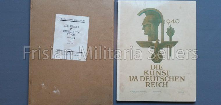 Die kunst im Deutschen reich – Juli 1940 – Zentalverslag der N.S.D.A.P., Franz Eher nachf., München