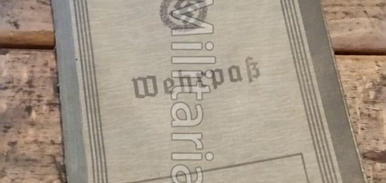 Wehrpas PZ. Pi. Batl. 58 – 7. Pz. Div. 6-7-'44 Gesneuveld aan het Oostfront