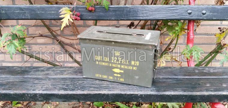 Metalen/waterdichte munitie kist voor 12.7 mm patronen ( .50 )