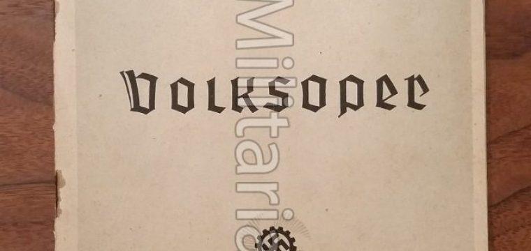 Volksoper Leipzig info. boekje 1941