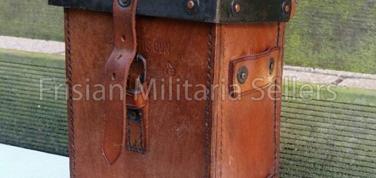 Australische – lederen toolbox voor de Vickers .303 Inch. 1944