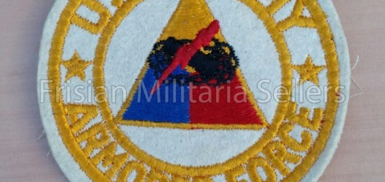 U.S. Army Armored Force patch Ardennes