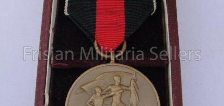 Cased '1 Oktober 1938' Medal with 'Pranger Burg'