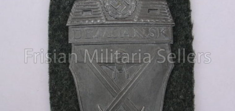 WH ( Heer/waffen SS ) 'Demjansk' Campaign Shield