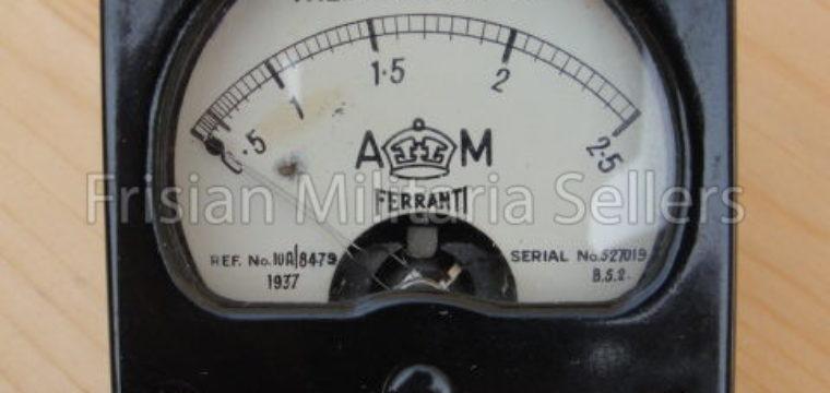 WW2 RAF Thermo Ammeter