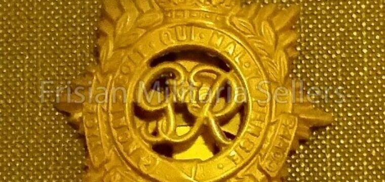 Cap Badge The Royal Army Service Corps